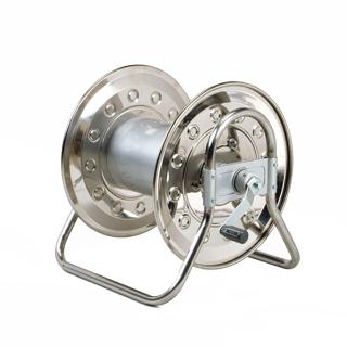 【散水作業用品-ホースリール】ハタヤ ステンノホースリール本体のみ 6分(ホース内径18mm)タイプ SLD-0-6SJ <大型・重量商品>