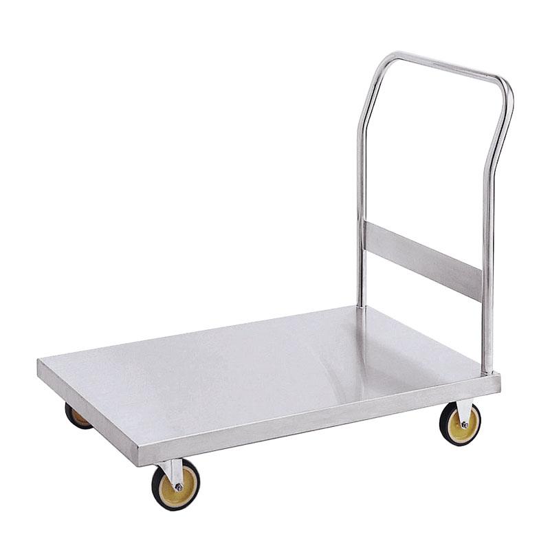 【運搬作業用品-台車】キャニオン ステンレス台車 平板仕様 D-2 <大型・重量商品>