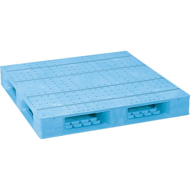 片面使用型 4方差し 新作多数 ハンドリフト対応 運搬作業用品-パレット 大型 サンコープラスチックパレット4方差し片面使用型D4-1111F-3 重量商品 特別セール品