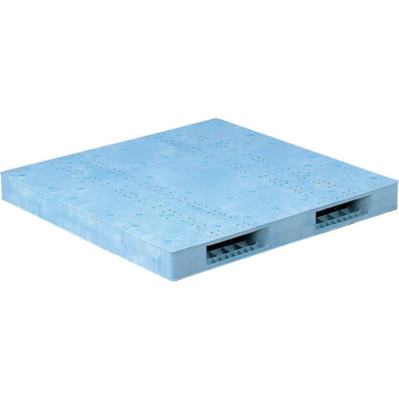 【運搬作業用品-パレット】サンコープラスチックパレット2方差し両面使用型R2-1515F <大型・重量商品>