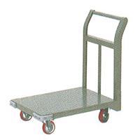 ヨドノ 小型片袖運搬車 プレス車輪 650×450 品番21S