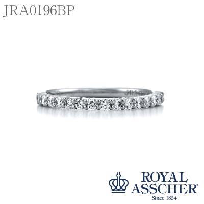 【JRA0196BP】Pt950 Diamond 0.30ct ハーフエタニティ BlueStar