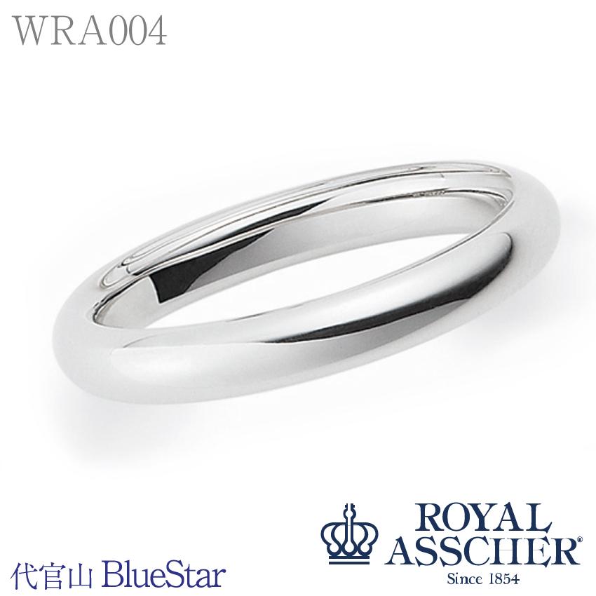 【WRA004】ロイヤルアッシャーダイヤモンド マリッジリング(アンサンブル)Pt950鋳造製法 リング*ダイヤ無しのデザイン