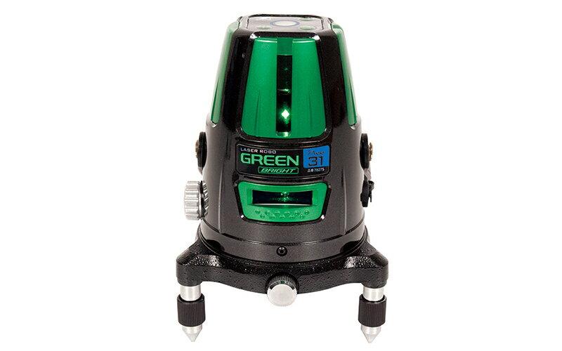 シンワ測定 (品番)78275 レーザーロボ グリーン Neo 31 BRIGHT 縦・横・大矩・地墨