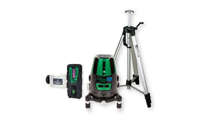 シンワ測定 (品番)78283 レーザーロボ グリーン Neo 21P BRIGHT 受光器・三脚セット
