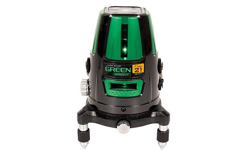 シンワ測定 (品番)78274 レーザーロボ グリーン Neo 21 BRIGHT 縦・横・地墨