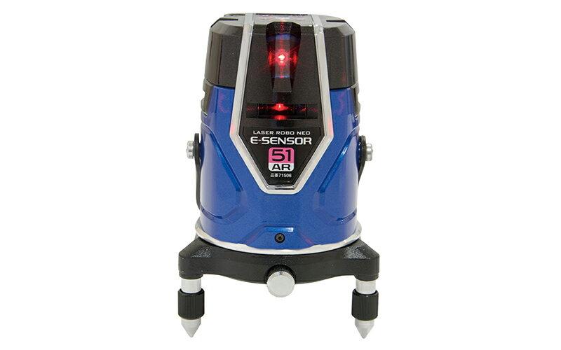 シンワ測定 (品番)71506 レーザーロボ Neo E Sensor 51AR フルライン・地墨