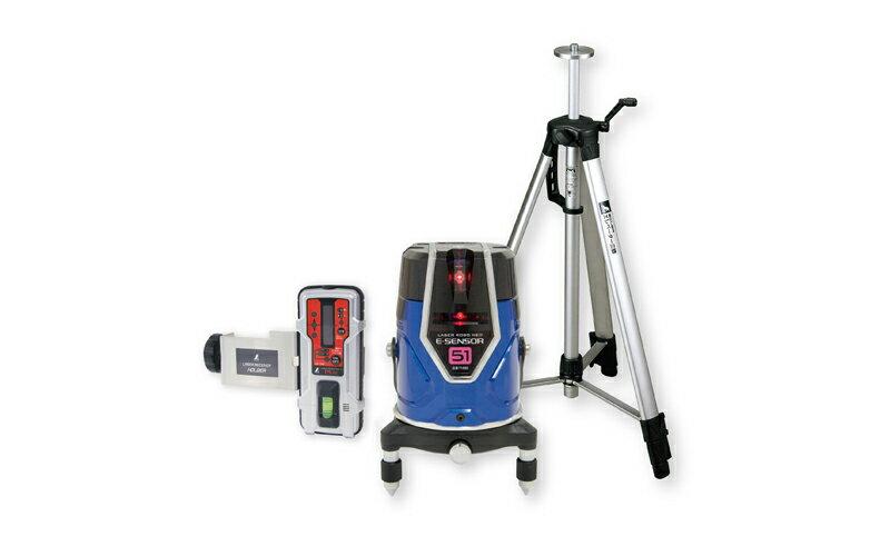 シンワ測定 (品番)71515 レーザーロボ Neo E Sensor 51 受光器・三脚セット