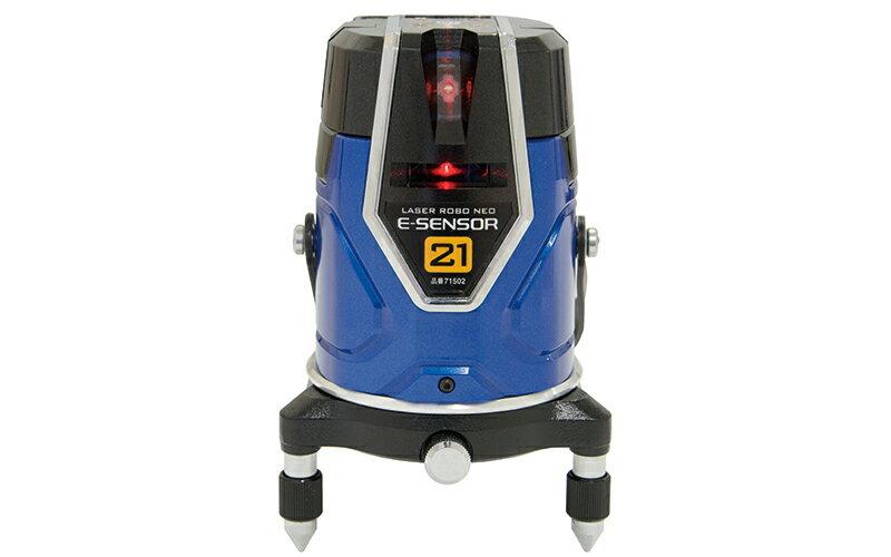 シンワ測定 (品番)71502 レーザーロボ Neo E Sensor 21 縦・横・地墨