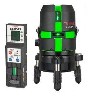 タジマ (品番:GZAN-KYR) NAVI GEEZA-KYR [本体(受光器付)] レーザー墨出し器