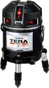 タジマ (品番:ML10-KJC) TERAレーザー矩十字・横全周/10m/IP [本体のみ] レーザー墨出し器