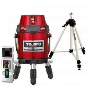 タジマ (品番:ZEROS-KJCSET) ゼロセンサーKJC 受光器・三脚セット [本体+受光器+三脚] レーザー墨出し器