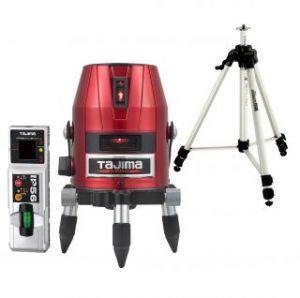 タジマ (品番:ZERO-KYRSET) ゼロKYR 受光器・三脚セット [本体+受光器+三脚] レーザー墨出し器