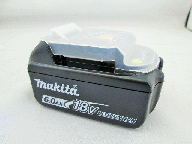 マキタ 18V リチウムイオンバッテリ【6.0Ah】 BL1860B 残容量表示+自己故障診断付  [蓄電池]