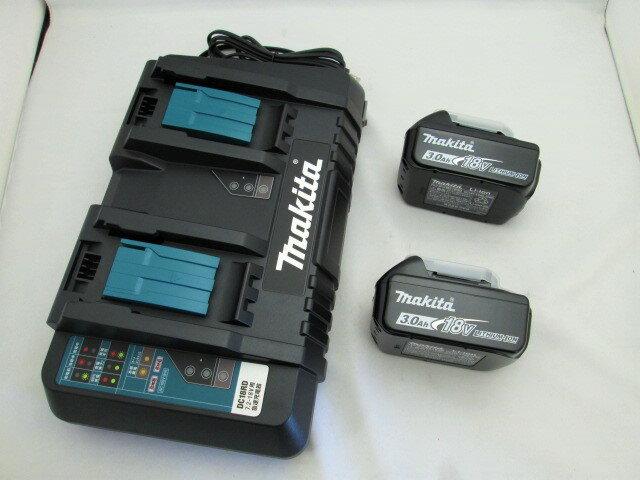 格安 価格でご提供いたします 送料込み マキタ 2口急速充電器DC18RD お買い得品 18VリチウムイオンバッテリBL1830B×2個 蓄電池