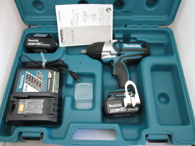 マキタ 18V 充電式インパクトレンチ TW450DRGX [6.0Ah] セット品