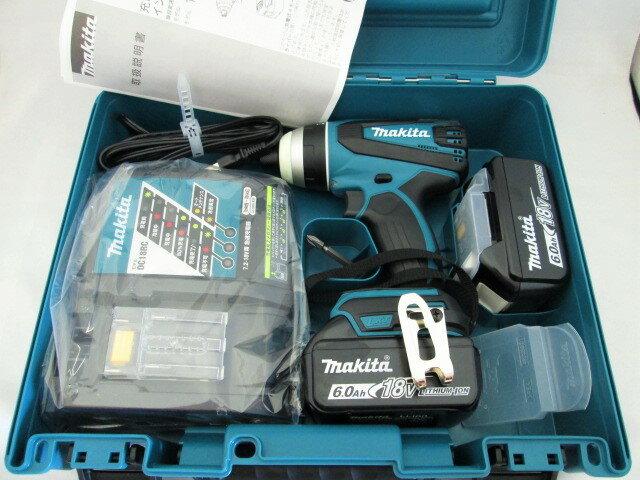 マキタ 18V 充電式4モードインパクトドライバ TP141DRGX(青) / TP141DRGXB(黒) [6.0Ah] セット品