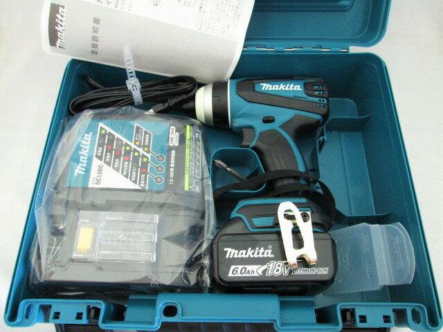 マキタ 18V 充電式4モードインパクトドライバ TP141D型 [6.0Ah電池1個仕様]