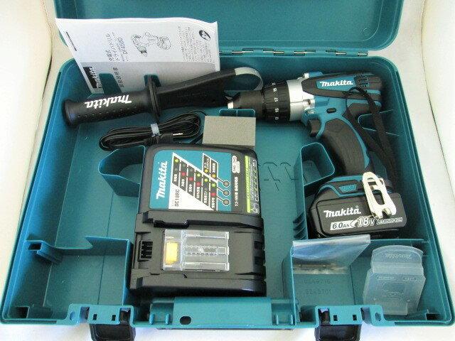 マキタ 18V 充電式ドライバドリル DF458D型 [6.0Ah電池1個仕様]