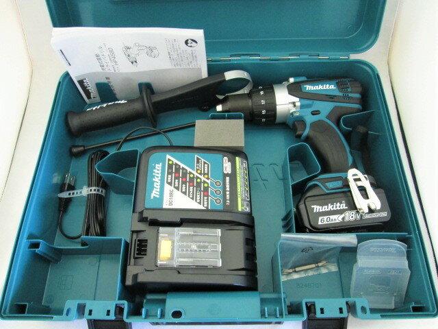 マキタ 18V 充電式震動ドライバドリル HP458D [6.0Ah電池1個仕様]