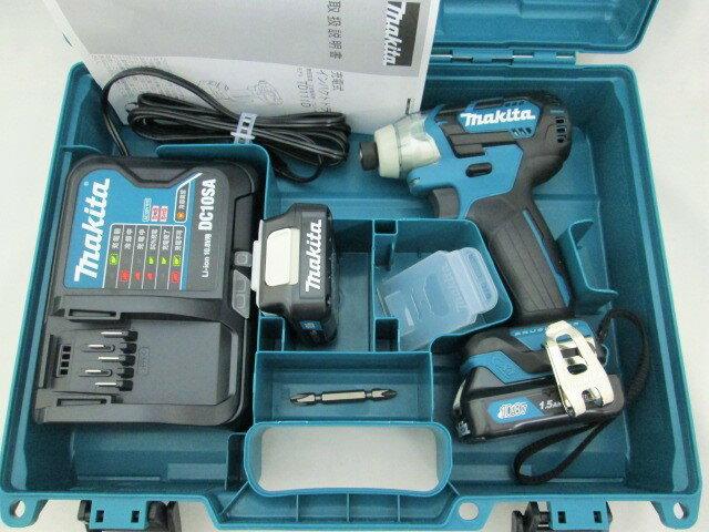 マキタ スライド式10.8V 充電式インパクトドライバ TD111DSHX(青) / TD111DSHXB(黒) 【1.5Ah】 セット品