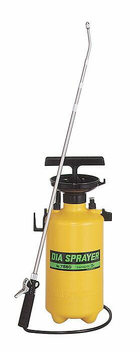 フルプラ プレッシャー式噴霧器 単頭式伸縮ノズル 5L用 NO,7550