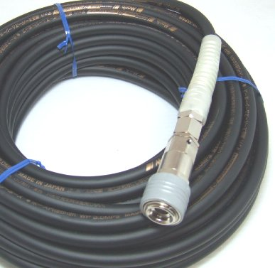 マッハ GHSP-520 高圧用エアーホース スーパースムージー ロック一発カプラ 5.0x9.0x20m