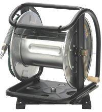 宅配便 マッハ HPD-600C 送料無料カード決済可能 高圧用 選択 スチールドラムロール ホース内径6mm 回転台なし 空ドラム