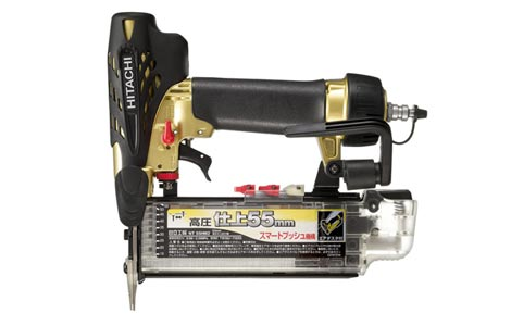 HiKOKI/日立工機 高圧仕上釘打機 NT55HM2 ケース付 [エア工具]