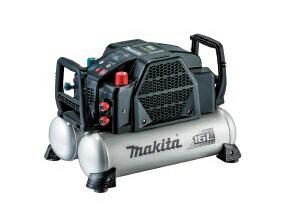 マキタ エアコンプレッサ AC462XGB(黒) [一般圧・高圧対応(各2口)/タンク容量16L/タンク内最高圧力46気圧]
