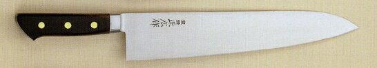 【宅配便!】  正広 13014 日本鋼 口金付 牛刀 300mm