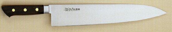 【宅配便!】  正広 13015 日本鋼 口金付 牛刀 330mm
