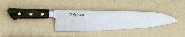 【宅配便!】  正広 13016 日本鋼 口金付 牛刀 360mm