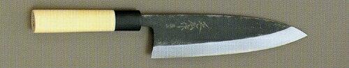 【宅配便!】  正広作 15465 最上 黒出刃包丁 210mm