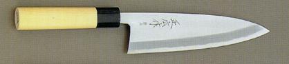 【宅配便!】  正広作 15408 最上 出刃包丁  195mm