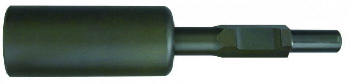 【宅配便!】  ラクダ 単管打込アダプターB型  30H×330mm内径50Φ(穴深さ100mm)