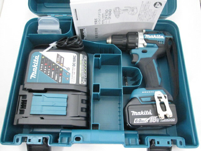 マキタ 18V 充電式ドライバドリル DF484D [6.0Ah電池1個仕様]