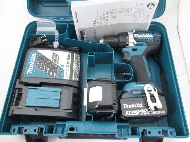 マキタ 18V 充電式ドライバドリル DF484D [3.0Ah電池2個仕様]