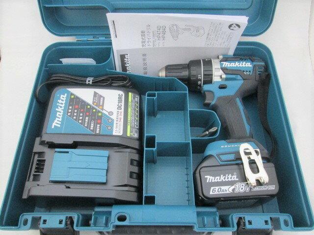 マキタ 18V 充電式震動ドライバドリル HP484D [6.0Ah電池1個仕様]