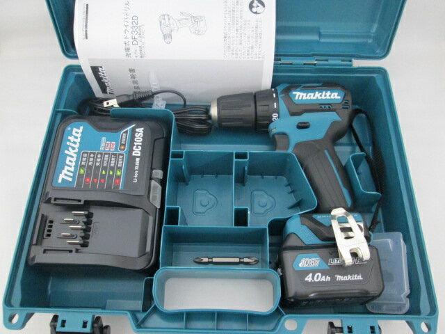 マキタ スライド式10.8V 充電式ドライバドリル DF332D 【4.0Ah電池1個仕様】