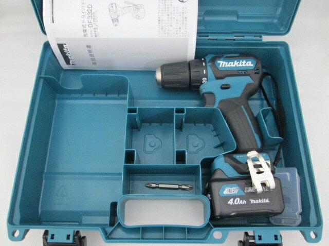 マキタ スライド式10.8V 充電式ドライバドリル DF332D 本体+【4.0Ah】バッテリBL1040B×1個+ケース
