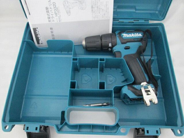 マキタ スライド式10.8V 充電式震動ドライバドリル HP332D 本体+ケース