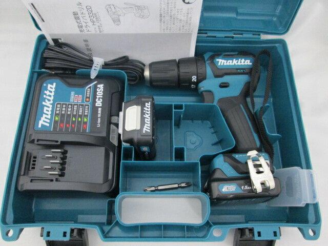 マキタ スライド式10.8V 充電式震動ドライバドリル HP332D [1.5Ah電池2個仕様]