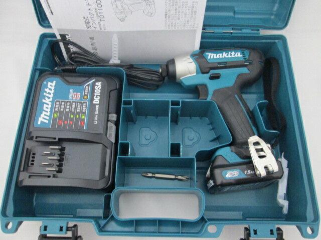 マキタ スライド式10.8V 充電式インパクトドライバ TD110D [1.5Ah電池1個仕様]