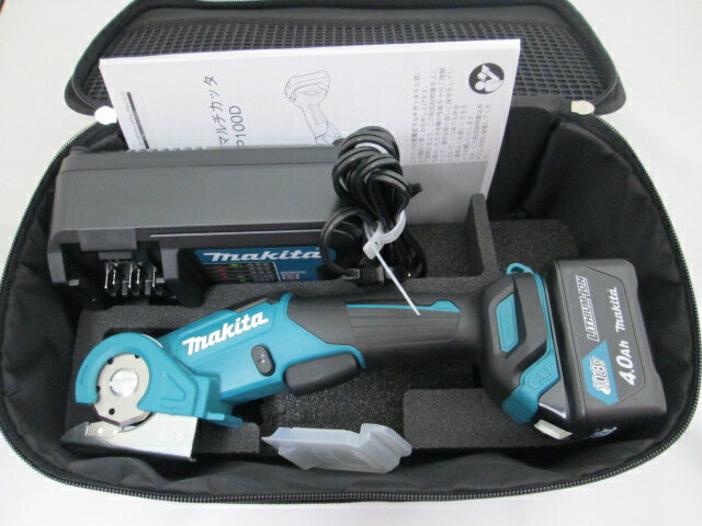 マキタ スライド式10.8V 充電式マルチカッタ CP100D [4.0Ah電池1個仕様]