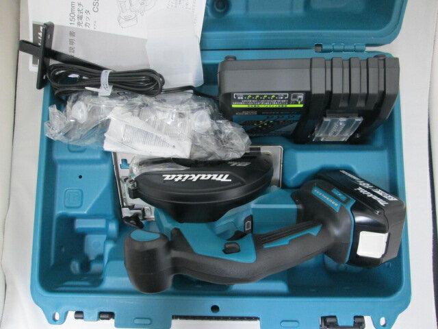 マキタ 18V 150mm充電式チップソーカッタ CS551D [3.0Ah電池1個仕様]