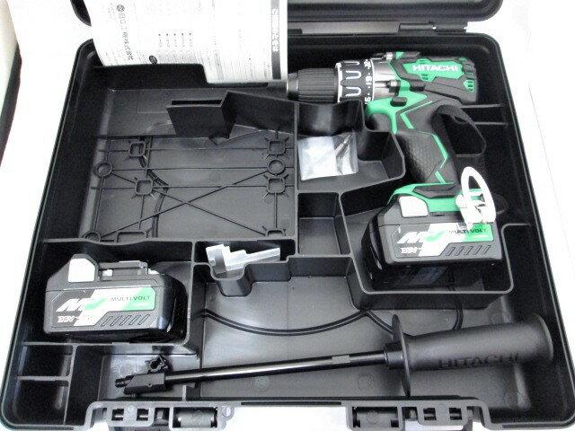 HiKOKI/日立工機 マルチボルト(36V) コードレスドライバドリル DS36DA 本体+電池BSL36A18×2個+ケース