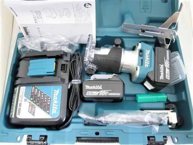 マキタ 18V 充電式トリマ RT50D [6.0Ah電池2個仕様]