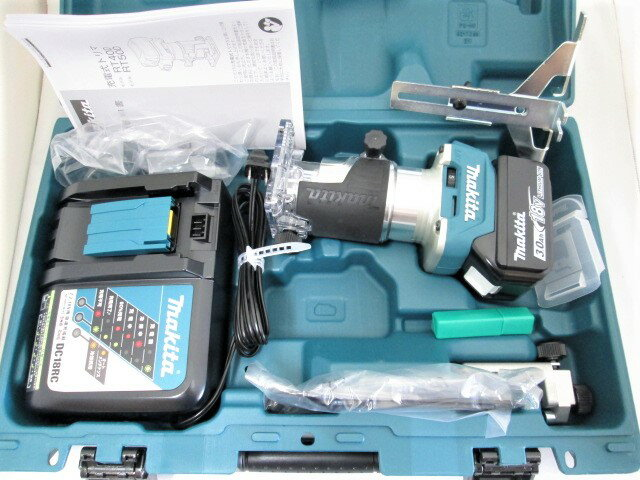 名作 マキタ 18V 充電式トリマ RT50D [3.0Ah電池1個仕様]:木らく部, Hectarz:5139f2b6 --- sunnyspa.vn