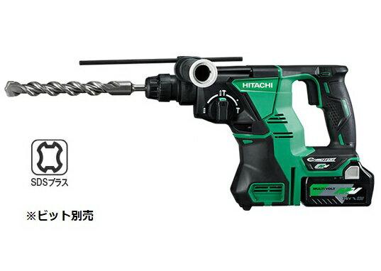 HiKOKI/日立工機 マルチボルト(36V) コードレスロータリハンマドリル DH36DPA(2XP) [2.5Ah] セット品